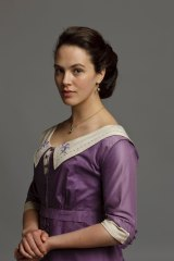 Jessica Brown Findlay, here in <i>Downton Abbey</i>, features in both <i>England is Mine</i> and <i>This Beautiful Fantastic</i>.