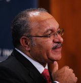 PNG Prime Minister Peter O'Neill,