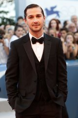 Troubled actor: Shia LaBeouf says a woman raped him during an art session.