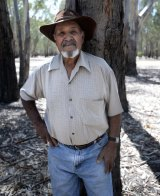 Yorta Yorta Elder Uncle Colin Walker.