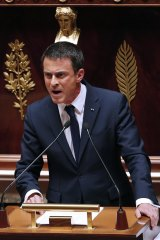 Just say non: French Prime Minister Manuel Valls says that his country is not willing to see any nation pushed out of the eurozone.