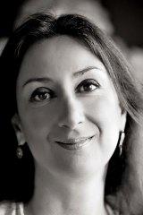 Investigative journalist Daphne Caruana Galizia.