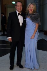 Dinner with Opposition Leader Bill Shorten, pictured with wife Chloe at last year's Midwinter Ball, claimed $10, 750.