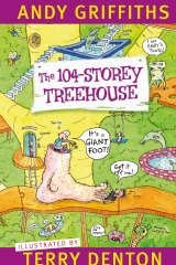 104-Storey Treehouse by Andy Griffiths.