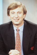Dennis Cometti in an old publicity shot from the 1990s.