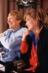 Fred Schepisi and Meryl Streep, September 1987.