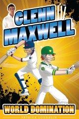 Cover shot: Glenn Maxwell has written a series of four children's books.