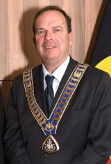New Waverley mayor John Wakefield.