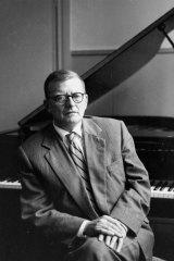 Russian composer Dmitry Shostakovich.