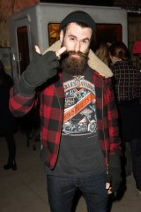 """""""They can pull anything together and it just works"""": British model Ricki Hall regards the homeless as fashion inspiration."""
