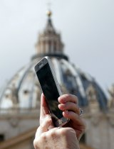 The Pontiff has called on the faithful to consult the Bible with the same frequency as they consult their smartphones