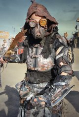 Compulsory costumes are either drawn from or inspired by the <i>Mad Max</i> movies at the Wasteland Festival .
