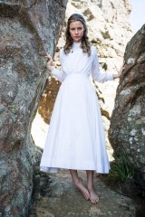 Lily Sullivan as Miranda in Picnic at Hanging Rock.