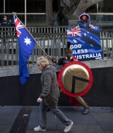 Reclaim Australia rally in Sydney.