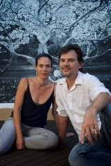 Joshua Yeldham with his wife Jo today.