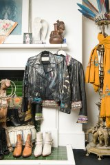 Camilla Franks' wardrobe takes up an entire room of the Woollahra home in Sydney.