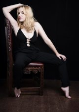 """""""This stage is a palace. This chair is a throne. This woman is a man."""" Kate Mulvany plays Richard III."""