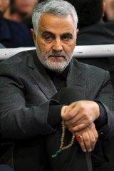 Major-General Qasim Suleimani, head of the Iranian Revolutionary Guard's Quds Force.