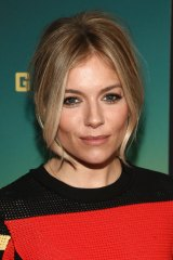 Sienna Miller is happy the media focus is more on her career than her personal life these days.