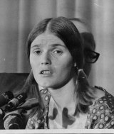 """Linda Kasabian, a member of the Charles Manson """"family"""" who provided State evidence. October 21, 1970."""