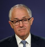 Efficient: Communications Minister Malcolm Turnbull sees big benefits in MPEG-4.