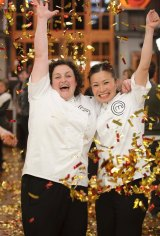 Julie Goodwin, a working mum of three from the Central Coast, became Australia's first <i>MasterChef</i>. In three high pressure challenges, Julie beat fellow finalist Poh Ling Yeow to take the title.