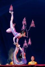 Shanghai Circus World performers.