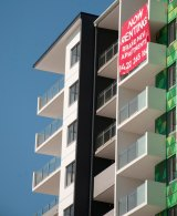 """Urbis says most Brisbane units are settling """"around the purchase price""""."""