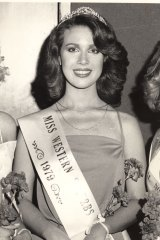 """Lost: Anita Cobby after winning the Miss Western Suburbs title in 1979. """"We can't ever forgive these five [convicted of murder] for what they did,"""" Anita's mother Grace Lynch told reporters, """"but we must stop hating them or that hatred will destroy us."""""""