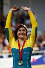 Cyclist Anna Meares.
