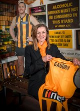 "Hawthorn is ""thrilled with Gaudry's passion and drive""."