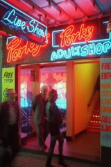 Porky's: Kings Cross was the epicentre of the sex trade in the '60s and '70s.