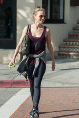Actor Naomi Watts, a devotee of Toomey's classes.