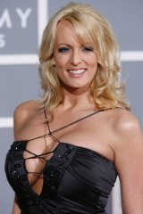 Stephanie Clifford, the pornographic actor known as Stormy Daniels.