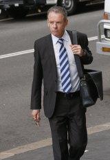 Fairfax Media chief political correspondent Mark Kenny arrives at court.