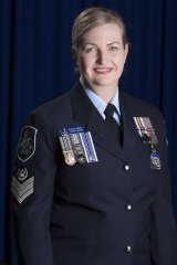 Australian Federal Police Detective Sergeant Yvonne Crozier  said it was an unexpected surprise to be recognised for her work with the family liaison program.