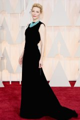 Style statement: Cate Blanchett in a John Galliano for Maison Margiela gown.