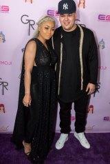 Rob Kardashian and Blac Chyna.