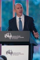 Federal Human Services Minister Stuart Robert.