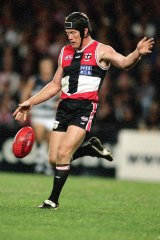 """St Kilda legend Nathan Burke: """"You might think you look stupid ... you've got to get over it."""""""