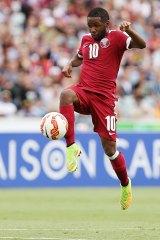 Qatari flyer: Khalfan Ibrahim is one to watch.