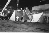 <i>Vault</i> is dismantled ready to be removed in 1981.