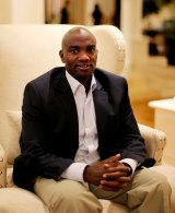 Dennis Mwaura, 34, is the founder of Onfon Media, which delivers services to businesses and consumers using mobile phones.