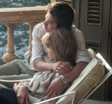Angelina and her husband Brad Pitt play a couple whose marriage unravels in <i>By the Sea.</i>