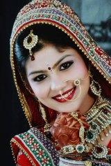 Simran at her wedding.