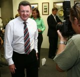 Gary Hardgrave in 2007 when he was the Liberal Party MP for Moreton in Brisbane.