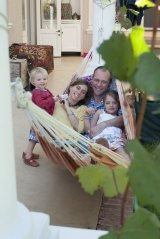 Debby and Travis Pollock, with children Jasper and Lily, have settled in Cape Town after five years abroad.