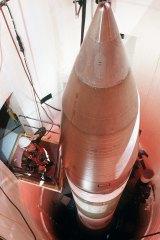 A Minuteman inter-continental ballistic missile