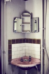A typical bathroom at the Gatwick.