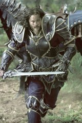 Travis Fimmel in <i>Warcraft</i>.